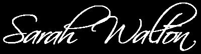 Sarah Walton Logo - white