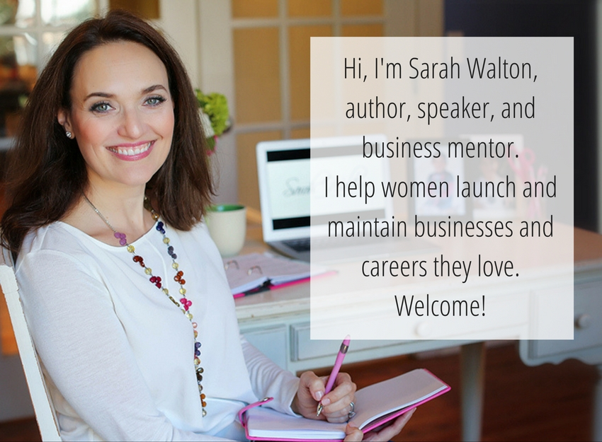 Sarah Walton - business mentor for women -mobile