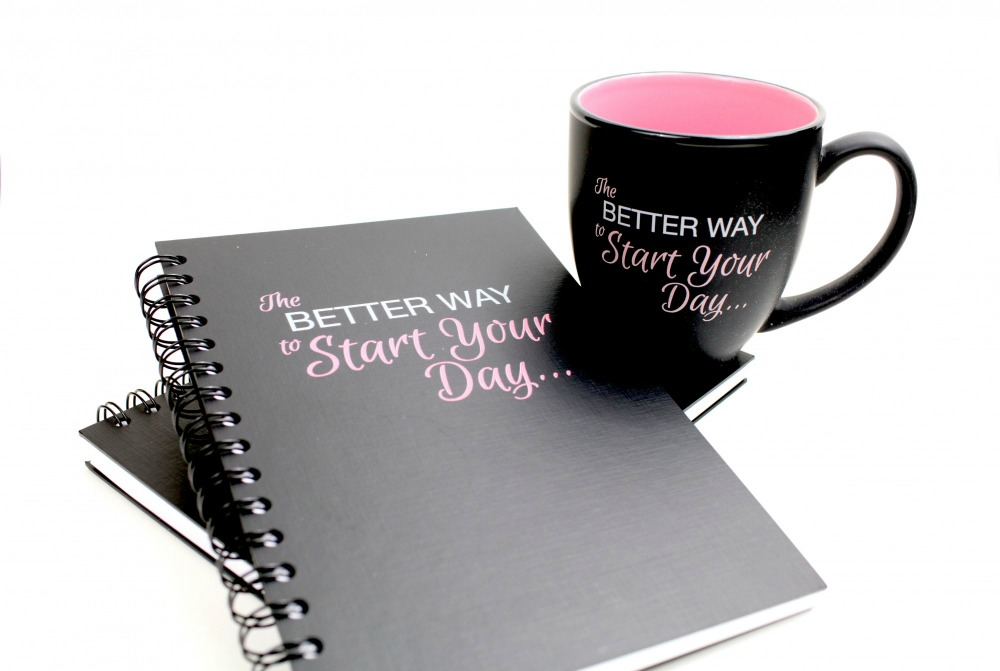 90 Day Goal Setting notebook & mug