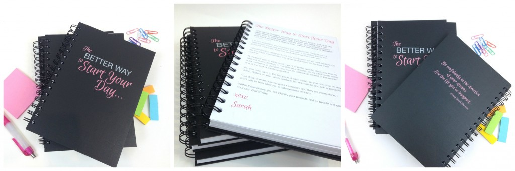 90 day goal setting notebook
