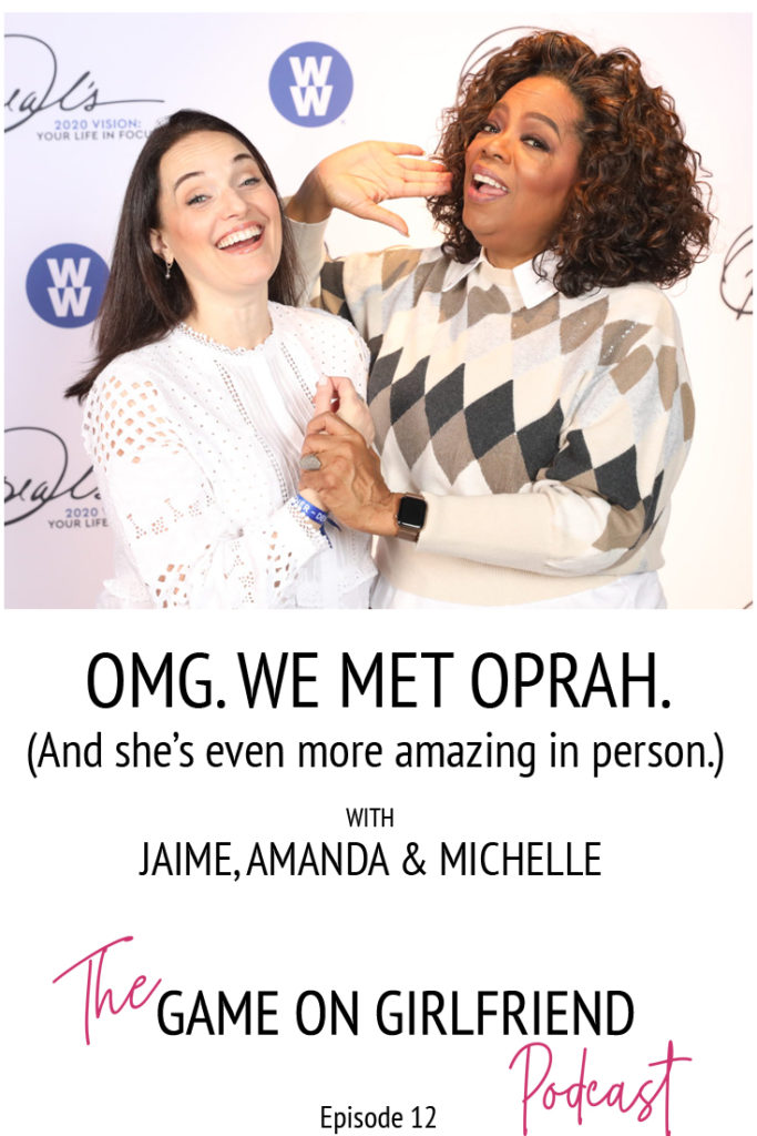 Sarah Walton and Oprah
